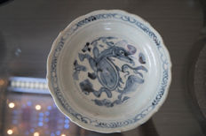 Very old plate - China - End of 16th century (Ming).