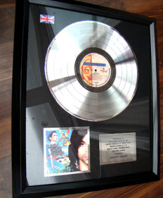 "Prince ""Graffiti Bridge"" 300,000 sales Award"