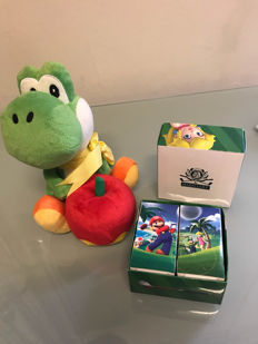 Exclusive Club Nintendo merchandise incl Yoshi Plush and Mario Golf balls