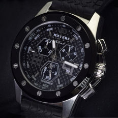 MEYERS Fly Racer 47  -  Wristwatch   -  Quartz Chronograph