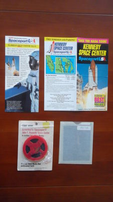 Spaceport USA: 8 mm film, super slide, information