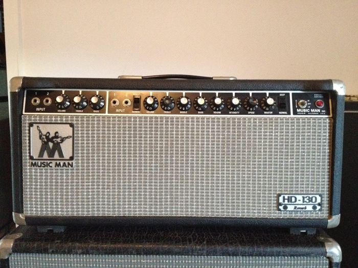 Vintage Music Man HD130 Reverb Guitar Amplifier, Original Made in USA 1978,  Tube Amp - Catawiki