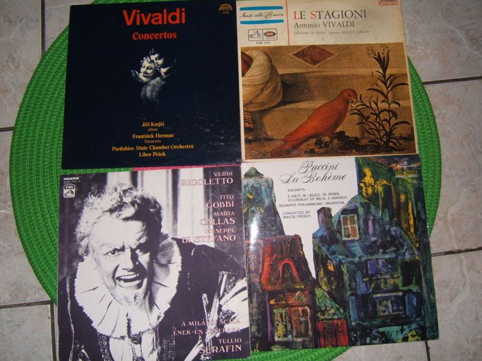 15 RARE italian classic collection / Verdi Vivaldi Puccini Rossini