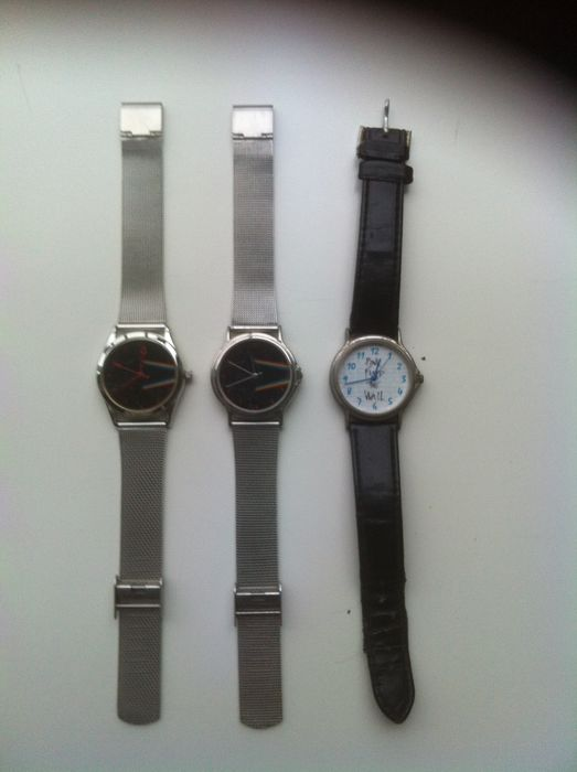 3 Different Pink Floyd Watches