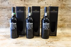1978 Colheita Port Krohn - bottled in 2015 - 3 bottles (75cl)