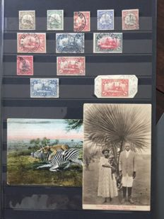 German colonies, Kiatschou, Togo and the Mariana Islands - collection