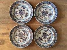 Four Imari plates - China - first half 18th century