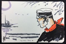 "Babini, Stefano - original illustration ""Tributo a Corto Maltese"""