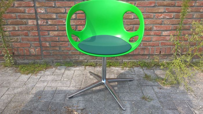Hiromichi Konno For Fritz Hansen   Rin Chair (HK10), Green With Upholstery