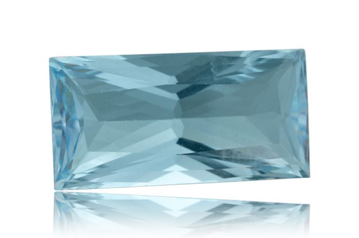 12.83 ct - Blue Topaz  - No Reserve Price