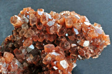 Big nodle of hexagonal aragonite crystals - 13.4 x 9 X 7.9 cm - 736 gm