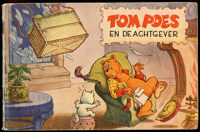 Sir Bumble and Tom Puss - Tom Poes en de Achtgever - Niemeijer series 4 - softcover - (1959)