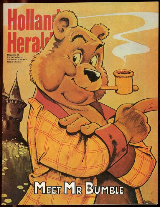 Marten Toonder - Holland Herald 3 - English-language magazine with Marten Toonder's unique drawings (1978)
