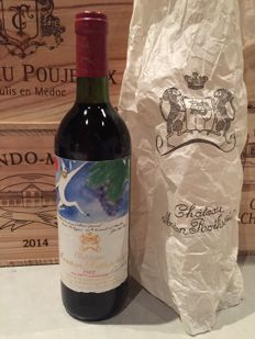 1982 Chateau Mouton Rothschild, Premier Cru Classe – 1 bottle (75cl)