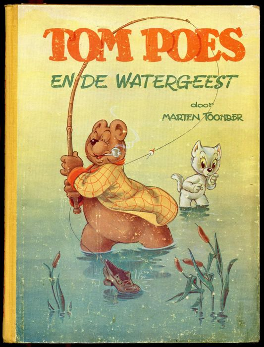 Oliver B. Bumble and Tom Puss - Tom Poes en de Watergeest - hardcover - (1950)