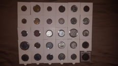 Kingdom of Italy. Lot of 30 coins, Vittorio Emanuele III (including silver)