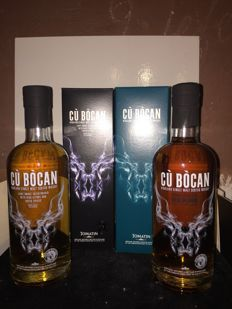 2 bottles - Cu Bocan by Tomatin (virgin oak & exotic spices)