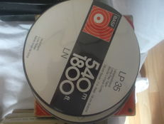 38 BASF reels 18 cm with tape