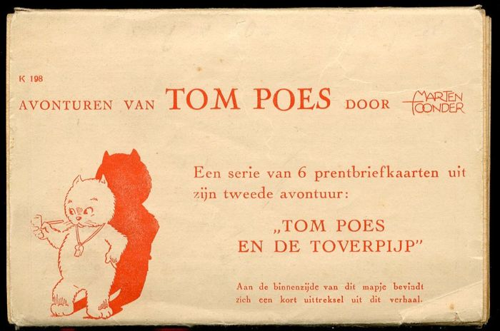 Tom Puss - 2nd set of picture postcards - Tom Poes en de toverpijp - (1942)