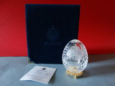 Fabergé - Imperial Egg Fabergé - Crystal -24k gold finished- Coronation egg