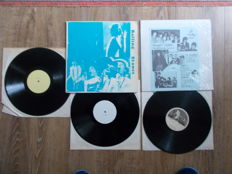The Rolling Stones Lot Of 2 Lp  , Double Lp Live And Lp Beautiful Delilah , Unofficial Release