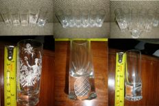 22 - Shot/Liquor - Crystal & Glass - Vintage Collection