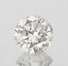 Round Brilliant Cut  - 1.05 carat - F color - SI1 clarity- Comes With AIG Certificate + Laser Inscription On Girdle