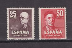 Spain 1947 - Falla and Zuloaga - Edifil 1015–1016