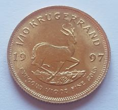 South Africa - 1/10 Krugerrand 1997 - 1/10 oz of gold