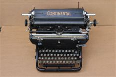 Antique Continental typewriter, Germany, around 1920