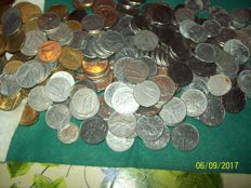 Republic of Italy - 3.5 kg lot of coins