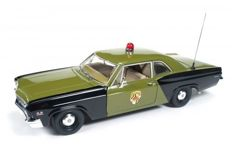 Autoworld - Scale 1/18 - Chevrolet Biscayne Maryland State Police 1966