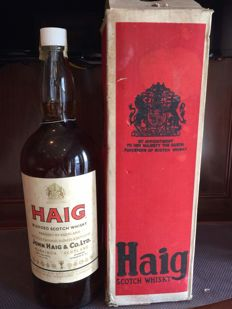 Haig 4.54 litres, late 1960's early 1970's, original box