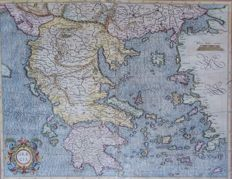 Greece; Mercator / Hondius - Graecia - 1589 / 1623