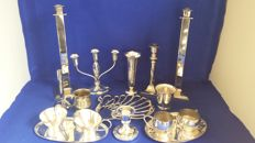 Lot of 16 pieces Silver Plated Table collectibles