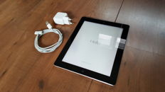 Apple iPad 3, 16GB Black (A1416)  with charger, etc.