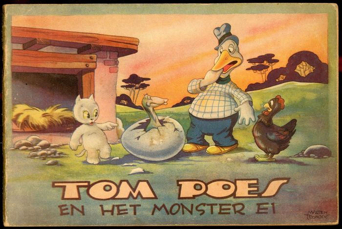 Sir Bumble and Tom Puss - Tom Poes en het monster ei - De Muinck volume 5 - softcover - (1947)