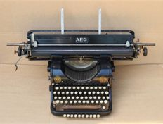 Antique AEG typewriter, Germany, around 1930