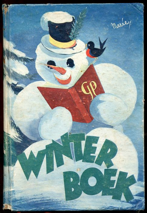Oliver B. Bumble and Tom puss - Winterboek 1948 - hardcover - first edition - (1948)