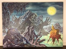 Axel Kreher (1941 - 2001) - Surrealism