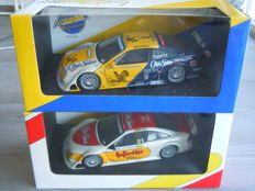 Minichamps UT Models - Scale 1/18 - Lott with 2 Different Opel Calibra ITC