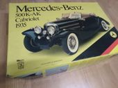 Check out our Pocher-Kit - Scale 1/8 - Mercedes-Benz 500K-AK Cabriolet 1935