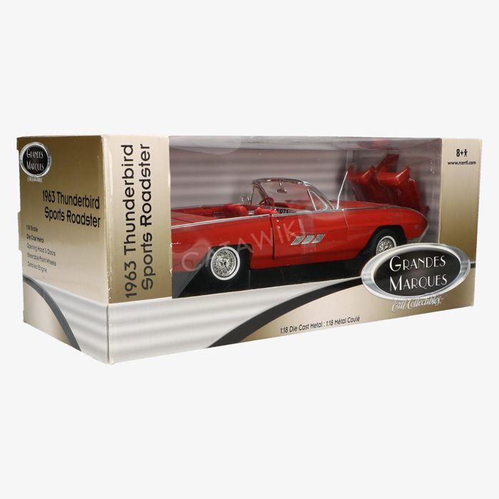 Ertl Collectibles Grandes Marques - Schaal 1/18 - Ford Thunderbird sports roadster 1963 - Rood