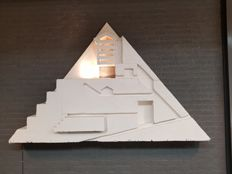 Pyramid top (original piece of scenery from Aïda musical 2001) - Circustheater in Scheveningen, the Netherlands