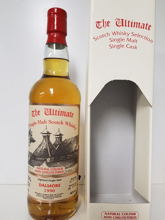 Dalmore 1990 22 years old -sherry butt - The Ultimate