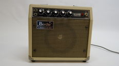 Vintage 1970's Aria Birdie MX-100R guitaramplifier with spring reverb, made in Japan
