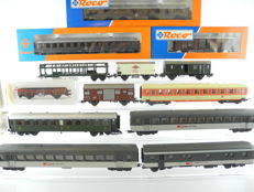 Roco/Liliput and others - 7 passenger carriages and 5 freight cars of the ÖBB/SBB/FS [458]