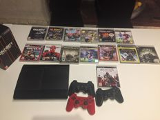 Slim Sony PlayStation 3 120GB with 15 games