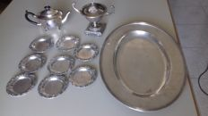 Lot of decorative silver items - Silver title 925/915/835/800