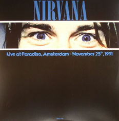 Lots Of 4 Live Albums By Nirvana, Live At Paradiso, Amsterdam - November 25th, 1991 180 Grams, Broadcasting Live KAOS-FM April 17th, 1987 & SNL-TV 1992 180 Grams, Aneurysm - Live San Diego 1994 · Westwood 1 · FM Broadcast, On A Plain: Rare Radio And TV B
